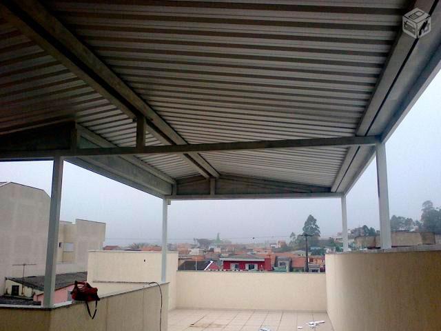 Cobertura telha galvanizada preço