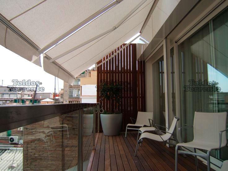 Toldo com bra o articulado express toldos for Toldos electricos para terrazas